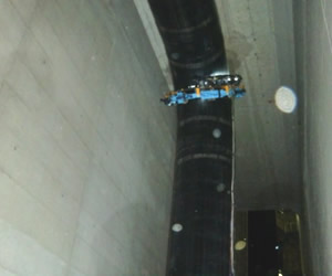 ガス管検査作業
